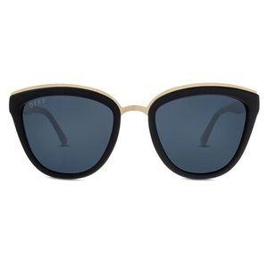 Brand new all black Diffeyewear Rose frame